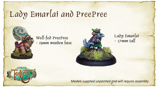 Lady Emarlai and Well-Fed PreePree