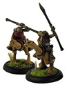 Light Cavalry (2 models with spears)