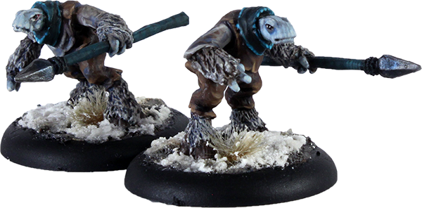 Dhogu Spears (2 models) - Click Image to Close